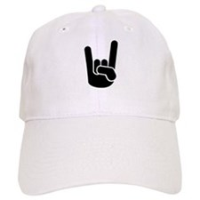 Rock Metal Hand Baseball Baseball Cap