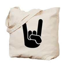 Rock Metal Hand Tote Bag
