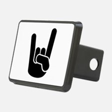 Rock Metal Hand Hitch Cover