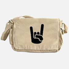 Rock Metal Hand Messenger Bag