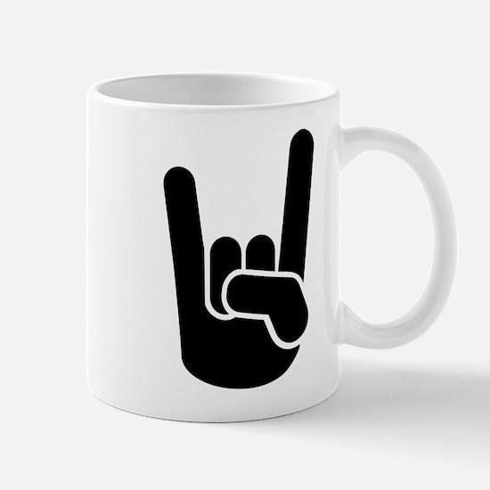 Rock Metal Hand Mug