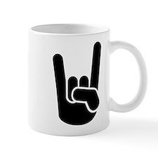 Rock Metal Hand Small Small Mug