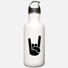 Rock Metal Hand Water Bottle