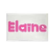 """Elaine"" Rectangle Magnet"