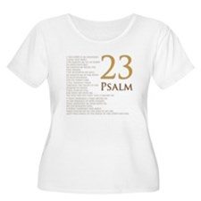 Psalm 23 Plus Size T-Shirt
