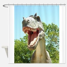 Dinosaurs T-Rex Shower Curtain