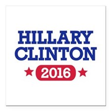 Hillary Clinton 2016 President Square Car Magnet 3