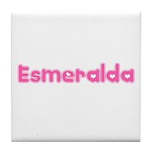 """""""Esmeralda"""" Tile Coaster"""