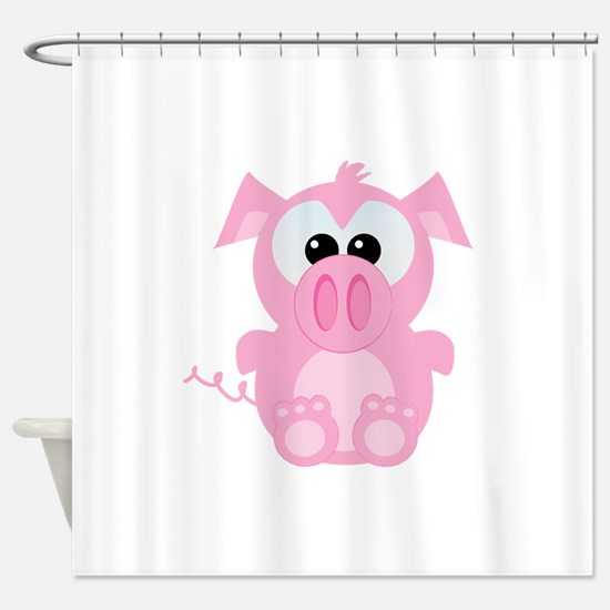 piggy.png Shower Curtain