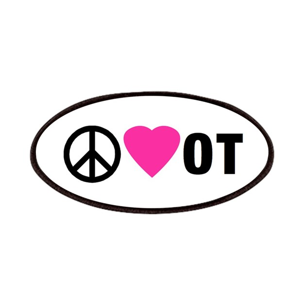 PEACE LOVE OT Patches by OTLife