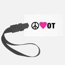 PEACE LOVE OT Luggage Tag
