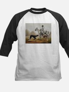 Arabian Bedouin Hunting with Two Salukis Baseball