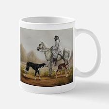 Arabian Bedouin Hunting with Two Salukis Mug