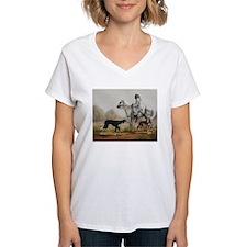 Arabian Bedouin Hunting with Two Salukis T-Shirt