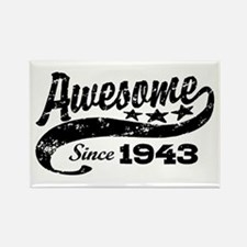 Awesome Since 1943 Rectangle Magnet