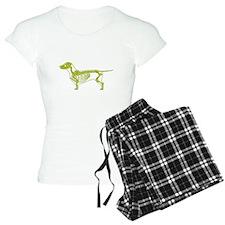Dachshund X-Ray Pajamas