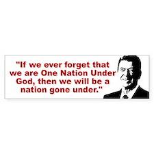Ronald Reagan Quotes Bumper Sticker