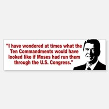 Ronald Reagan Quotes Sticker (Bumper)
