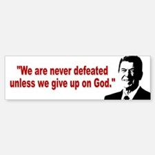 Ronald Reagan Quotes Bumper Bumper Sticker