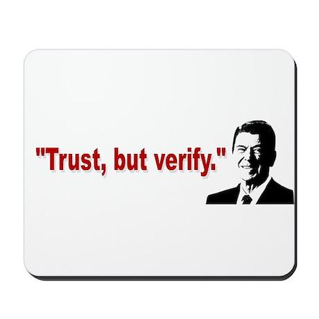 Ronald Reagan Quotes Mousepad