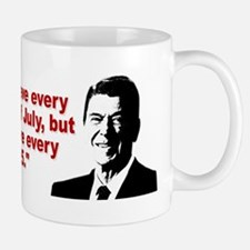 Ronald Reagan Quotes Small Small Mug