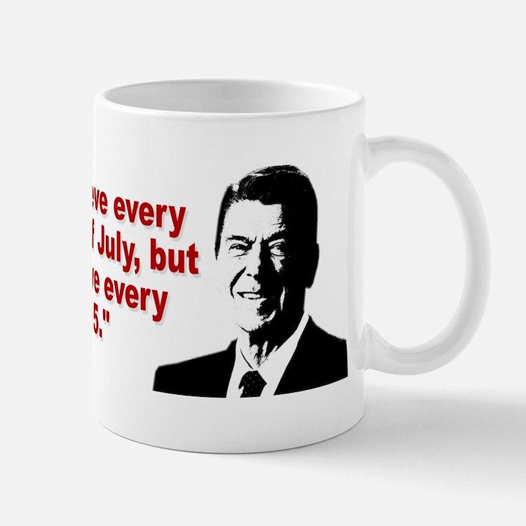 Ronald Reagan Quotes Small Small Mug