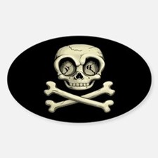 Billy Bones Sticker (Oval)