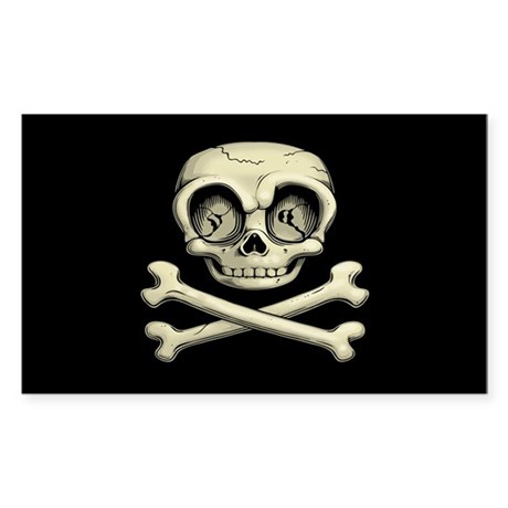 Billy Bones Sticker (Rectangle)