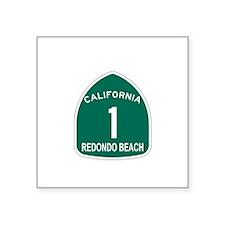 Redondo Beach, California Hig Sticker (Rectangular