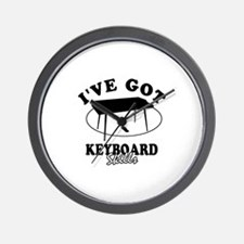 I've got keyboard skills Wall Clock