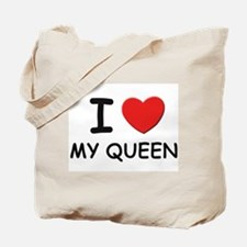 I love queens Tote Bag