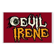 Evil Irene Decal