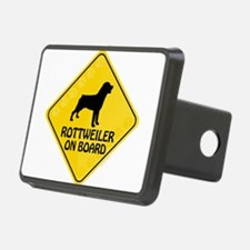 Rottweiler On Board Hitch Cover