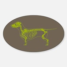 Dachshund X-Ray Decal