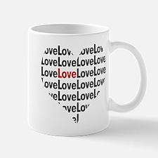 Cute Heart shaped Mug