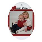 grandpa.png Ornament (Oval)