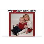 grandpa.png Postcards (Package of 8)