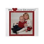grandpa.png Throw Blanket