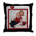 grandpa.png Throw Pillow