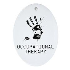 OT ARTISTIC HAND Ornament (Oval)