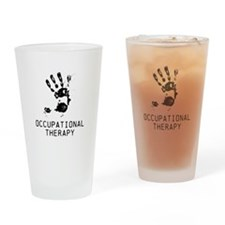 OT ARTISTIC HAND Drinking Glass