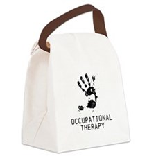 OT ARTISTIC HAND Canvas Lunch Bag