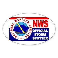 5X3-NWS-OfficialStormSpotter.jpg Decal