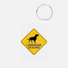 Labrador On Board Keychains