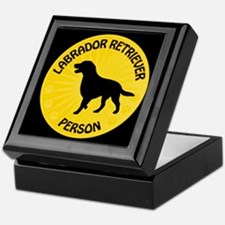 Labrador Person Keepsake Box