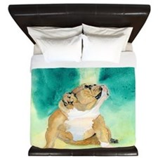 Bulldog Rufus King Duvet