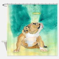 Bulldog Rufus Shower Curtain