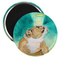 """Bulldog Rufus 2.25"""" Magnet (100 pack)"""
