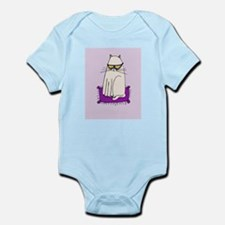 Morrissey the Cat with glasses Body Suit