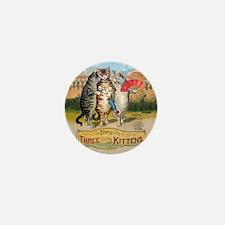 The Three Little Kittens Mini Button